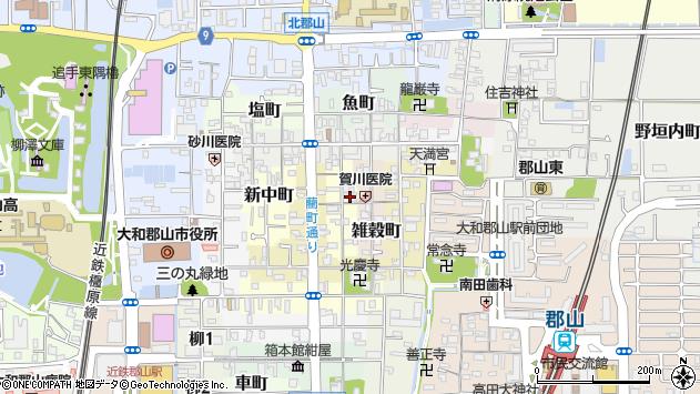 〒639-1159 奈良県大和郡山市奈良町の地図
