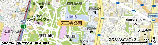 統国寺周辺の地図