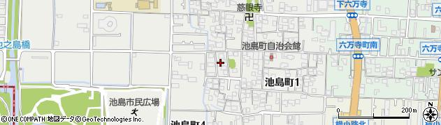 泉證寺周辺の地図