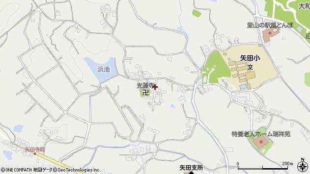 〒639-1058 奈良県大和郡山市矢田町の地図