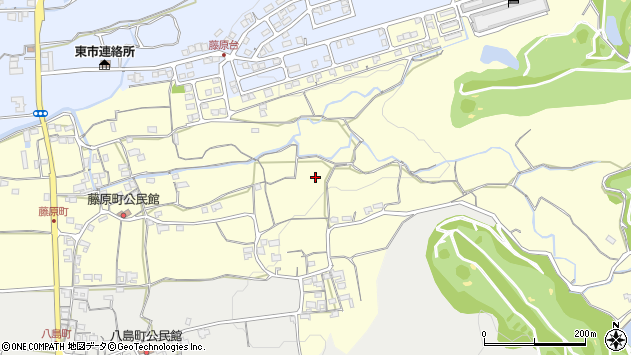 〒630-8421 奈良県奈良市藤原町の地図