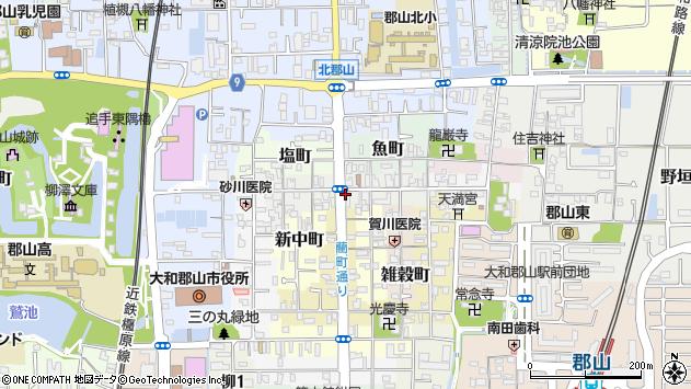 〒639-1151 奈良県大和郡山市本町の地図