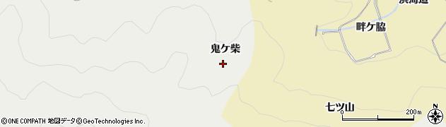 愛知県田原市江比間町(鬼ケ柴)周辺の地図