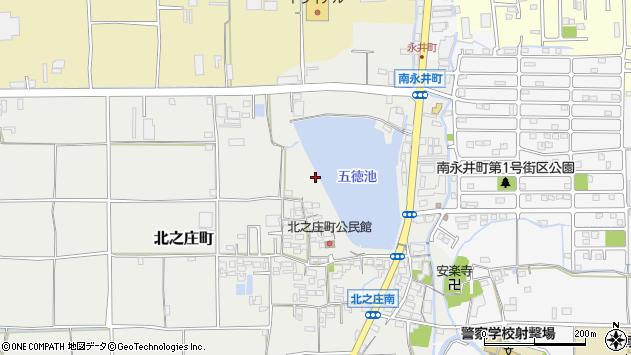 〒630-8451 奈良県奈良市北之庄町の地図