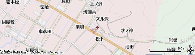 愛知県田原市野田町(才ノ神)周辺の地図