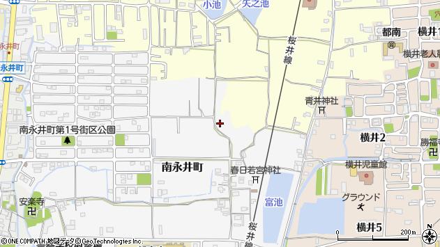 〒630-8443 奈良県奈良市南永井町の地図