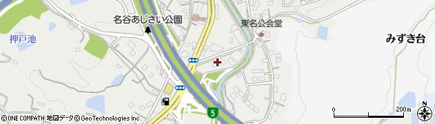 名谷富士ハイツ周辺の地図