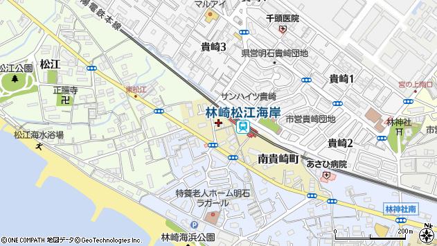 〒673-0035 兵庫県明石市南貴崎町の地図