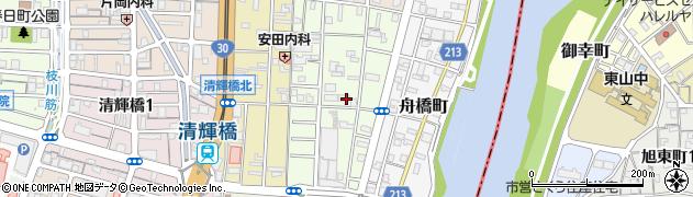岡山県岡山市北区天瀬南町周辺の地図