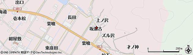 愛知県田原市野田町(坂瀬古)周辺の地図