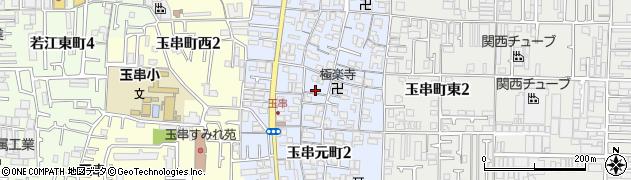 大阪府東大阪市玉串元町周辺の地図