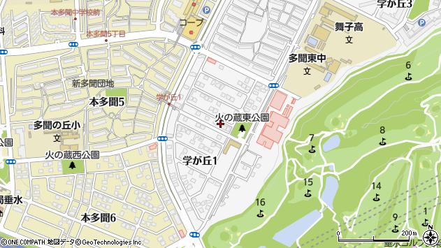 〒655-0004 兵庫県神戸市垂水区学が丘の地図