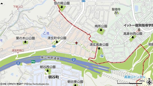〒655-0865 兵庫県神戸市垂水区清玄町の地図