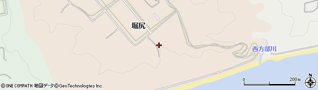 愛知県豊橋市西赤沢町(堀尻)周辺の地図