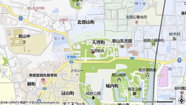 〒639-1006 奈良県大和郡山市天理町の地図