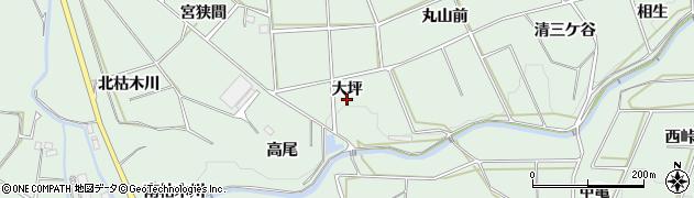 愛知県田原市六連町(大坪)周辺の地図