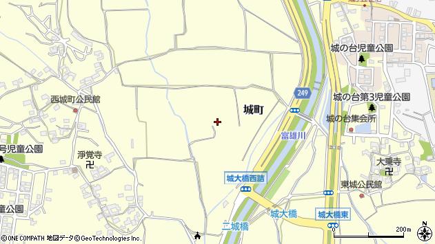 〒639-1051 奈良県大和郡山市城町の地図