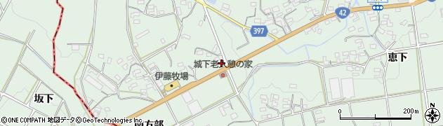 愛知県豊橋市城下町(北方部)周辺の地図