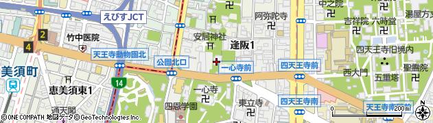 天暁院周辺の地図