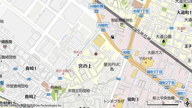 〒673-0031 兵庫県明石市宮の上の地図
