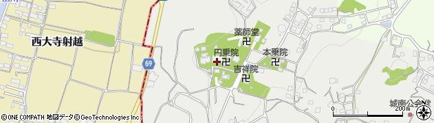 定光院周辺の地図