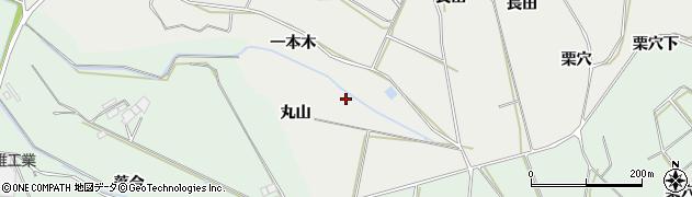 愛知県田原市相川町(一本木)周辺の地図