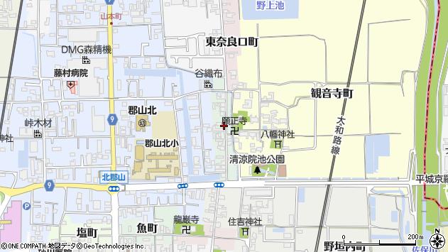 〒639-1164 奈良県大和郡山市西観音寺町の地図