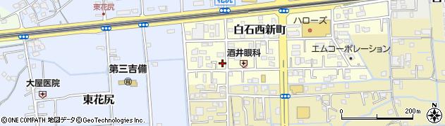 岡山県岡山市北区白石西新町周辺の地図