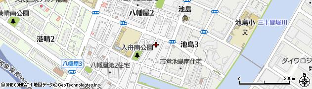 願行寺周辺の地図