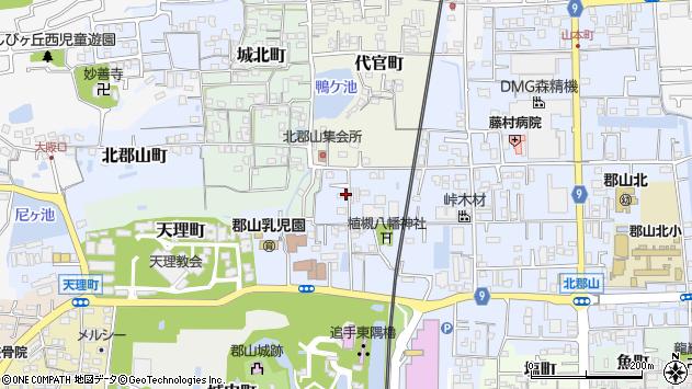 〒639-1005 奈良県大和郡山市植槻町の地図