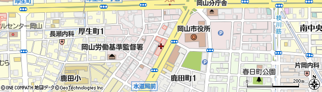 大供クリニック周辺の地図