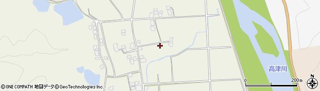 島根県益田市虫追町(沖)周辺の地図