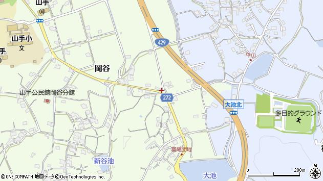 〒719-1162 岡山県総社市岡谷の地図