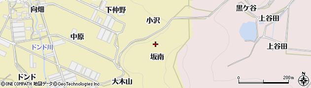 愛知県田原市宇津江町(坂南)周辺の地図
