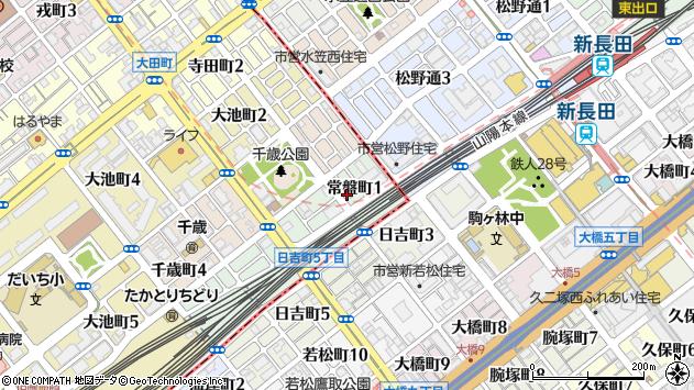〒654-0028 兵庫県神戸市須磨区常盤町の地図