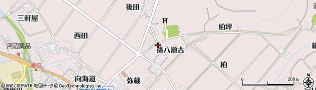 愛知県田原市野田町(孫八瀬古)周辺の地図