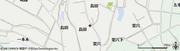 愛知県田原市相川町(栗穴)周辺の地図
