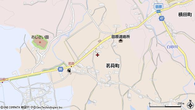 〒630-2175 奈良県奈良市茗荷町の地図