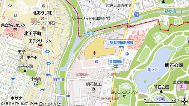 〒673-0849 兵庫県明石市茶園場町の地図