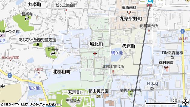 〒639-1004 奈良県大和郡山市城北町の地図