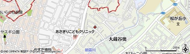 兵庫県明石市朝霧北町周辺の地図