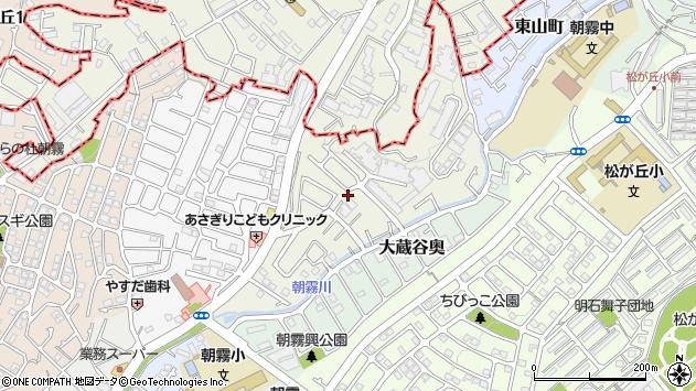 〒673-0851 兵庫県明石市朝霧北町の地図