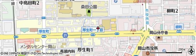 LEEクリニック周辺の地図