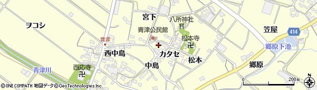 愛知県田原市神戸町(極楽地)周辺の地図