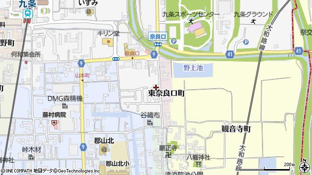 〒639-1163 奈良県大和郡山市西奈良口町の地図