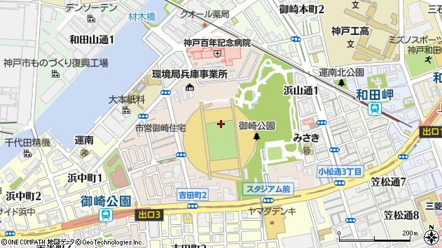 〒652-0855 兵庫県神戸市兵庫区御崎町の地図