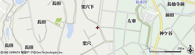 愛知県田原市相川町(栗穴下)周辺の地図