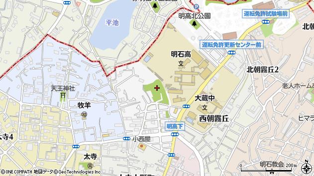 〒673-0842 兵庫県明石市荷山町の地図