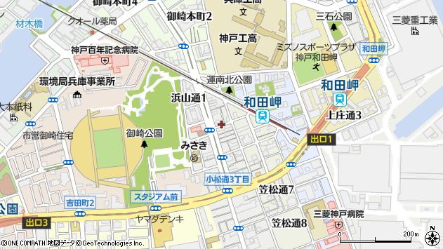 〒652-0865 兵庫県神戸市兵庫区小松通の地図