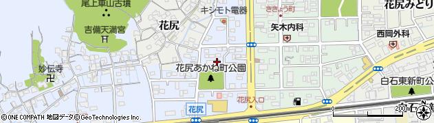 岡山県岡山市北区花尻あかね町周辺の地図